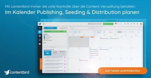 contentbird Software Screenshot