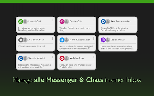 MessengerPeople Screenshot