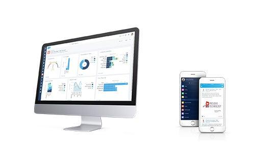 Salesforce CRM Screenshot