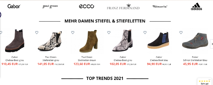 Schuhe24.de Screenshot