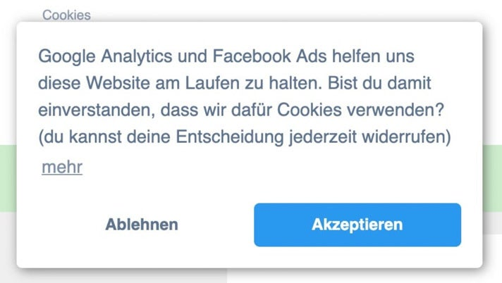 Cookie Opt-Out