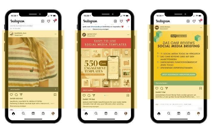 Instagram-Bild-Ads-Beispiele