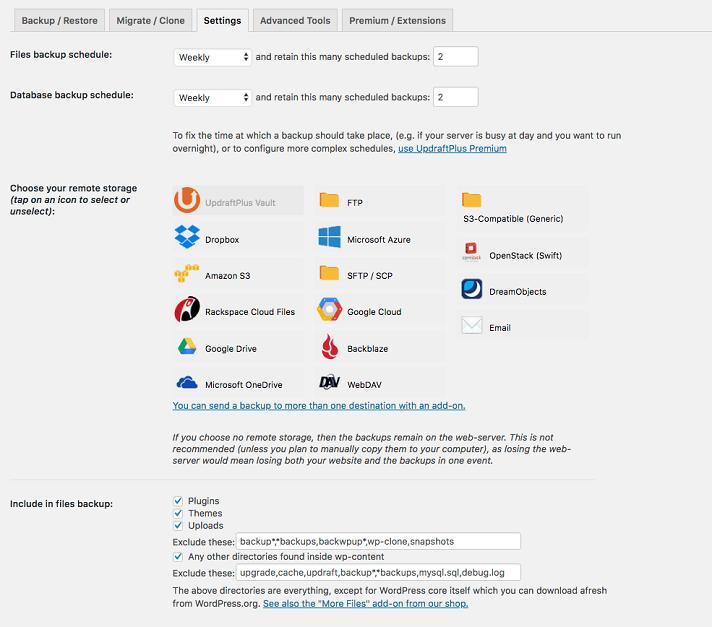 Beste-Wordpress-Back-Up-Plugins-UpdraftPlus