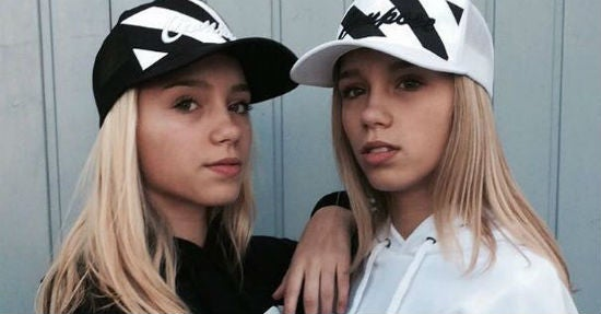 acb6ca4454f Two million fans in just four months  Twin German teenagers Lisa ...