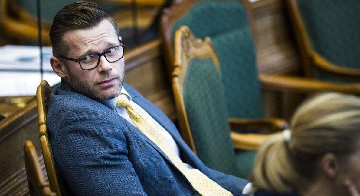 This Danish lawmaker grabs votes, where others grab