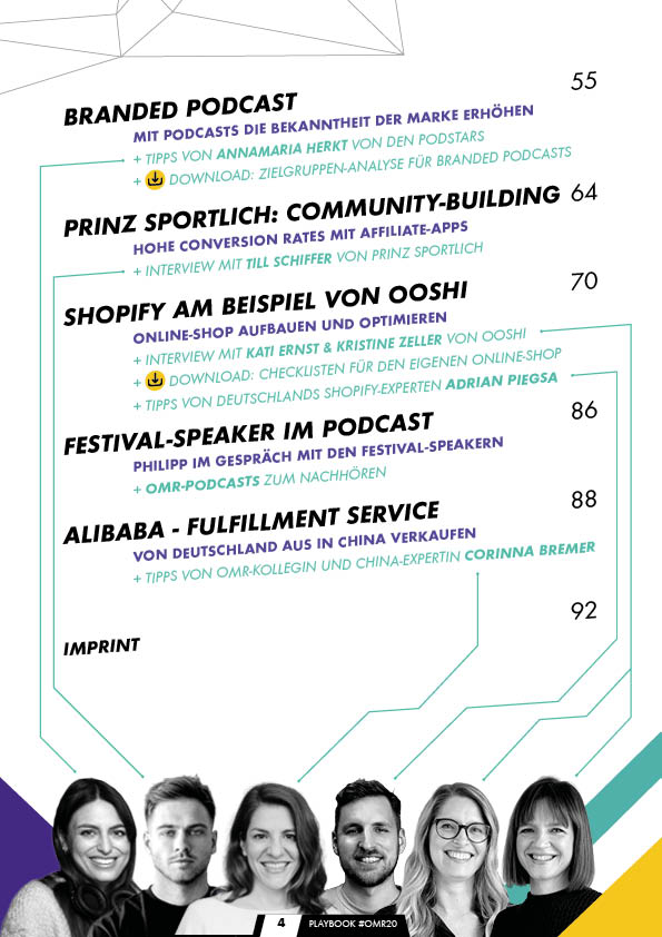 The Playbook - OMR20 Festival Edition