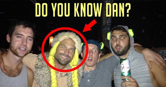 """(Bild: Facebook-Fanpage """"Find Dan"""")"""