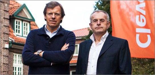 Wilhelm Bogena (links) und Rolf Hilchner heute
