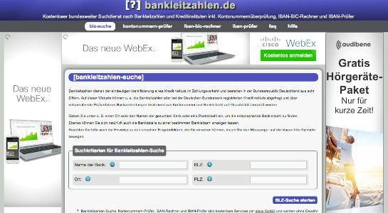bankleitzahlen