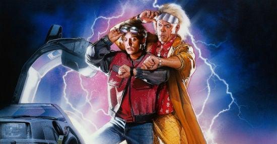 """Der Hollywood-Streifen """"Zurück in die Zukunft II"""" aus dem Jahr 1989 spielt im Jahr 2015 – sehen wir bald alle so aus wie Marty McFly und Doc Brown?"""