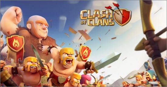 """Wie Clash of Clans kämpfen viele """"Freemium""""-Gaming-Apps um die Gunst und Zahlungsbereitschaft der Nutzer (Bild: Screenshot Supercell.com)"""