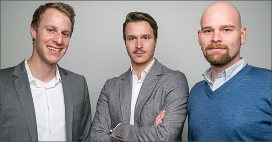 Das Führungsteam von esome: (von links) Falk Bielesch, Hansjörg Blase und Christoph Brust
