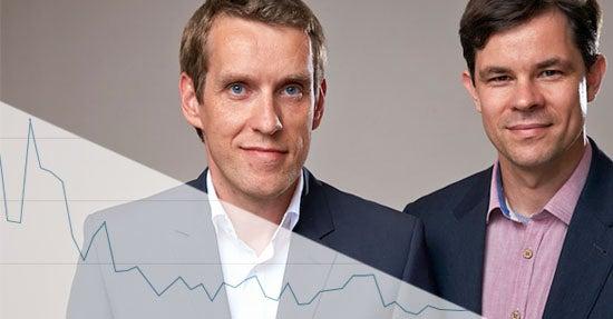 Michael Glöß und Peter Schilling von DS Ventures, dem Unternehmen hinter heftig (Foto: DS Ventures, Montage: Online Marketing Rockstars)