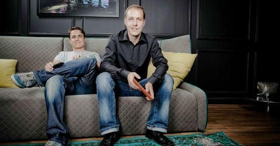 Jörg Kundrath (links) und Kai Klement, Gründer von der Kavaj GmbH.