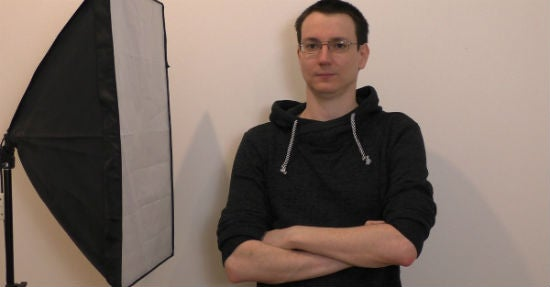 Martin Tangermann in seinem Studio