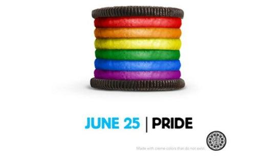 Der legendäre Pride-Beitrag von Oreo.