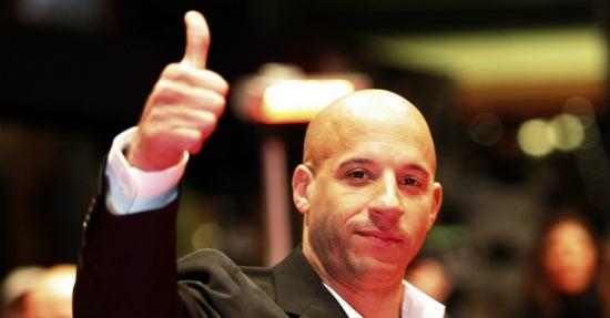 Vin Diesel taucht gleich zwei Mal unter den erfolgreichsten Facebook-Posts 2015 auf.