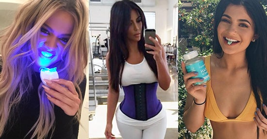 Von links nach rechts: Khloe Kardashian, Kim Kardashian und Kylie Jenner (Fotos: Instagram/Collage: Online Marketing Rockstars)